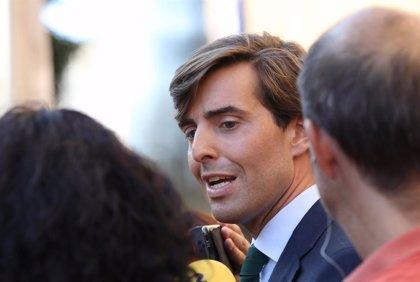"""Montesinos (PP): La """"fórmula andaluza"""" es extrapolable a España y Moreno es un """"ejemplo por su impulso reformista"""""""