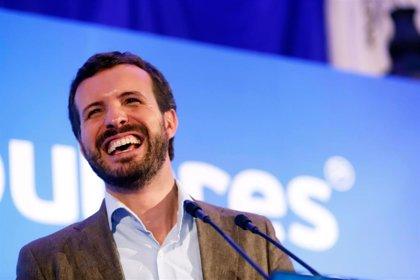 """Casado deja en manos de Egea y Villegas intentar un pacto: """"Las coaliciones son más rentables antes de las urnas"""""""