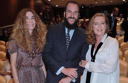 Borja y Blanca Cuesta reaparecen, con mejor aspecto, junto a Francesca Thyssen-Bornemisza