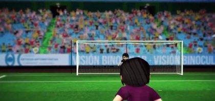 Un vídeo de animación muestra cómo las alteraciones binoculares en niños afectan a la lectura y deporte
