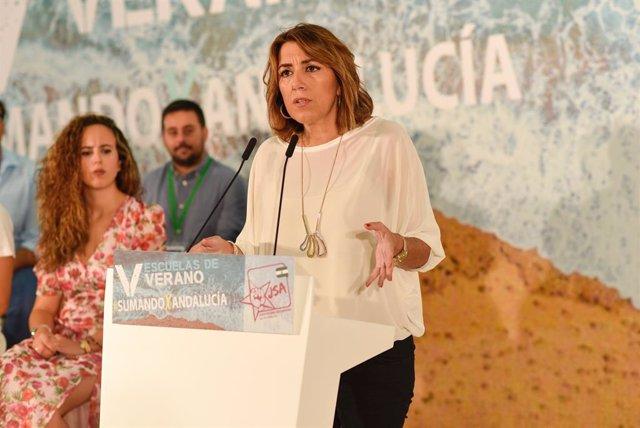 La secretària general del PSOE-A, Susana Díaz, en una imatge d'arxiu.
