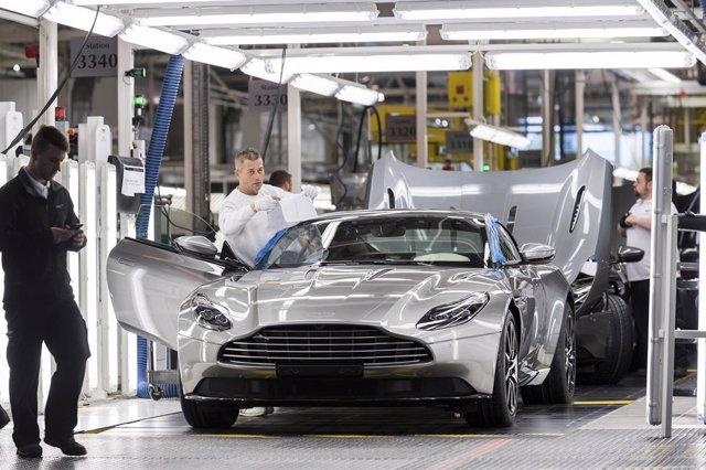 Producción de Aston Martin
