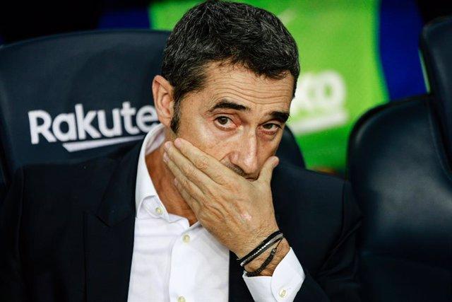 Ernesto Valverde en una foto d'arxiu