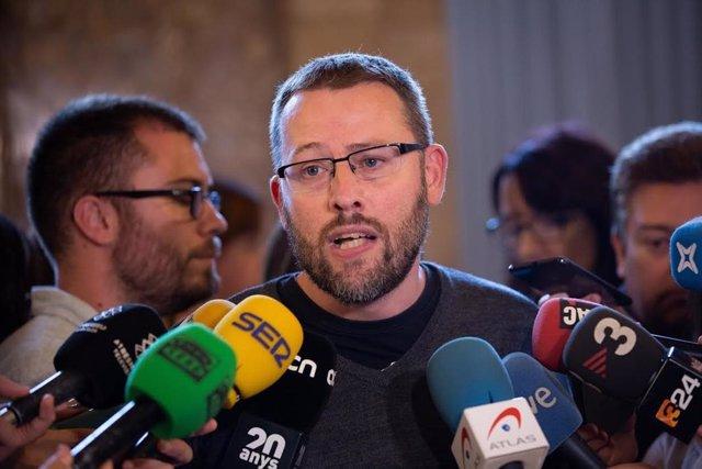 Declaracions de Vidal Aragonés (CUP) després del debat de política general