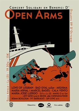 Concert solidari en benefici d'Open Arms