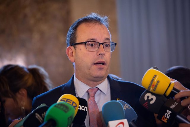 El diputat de JxCat al Parlament Marc Solsona