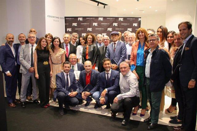 Premiados en el evento Pedro Expósito Cosentino City Madrid