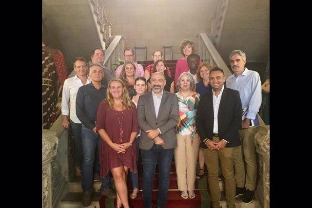 El nou patronat de la Fundació Mallorca Turisme.