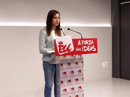 Eva Solla, única candidata de Esquerda Unida a la Presidencia de la Xunta