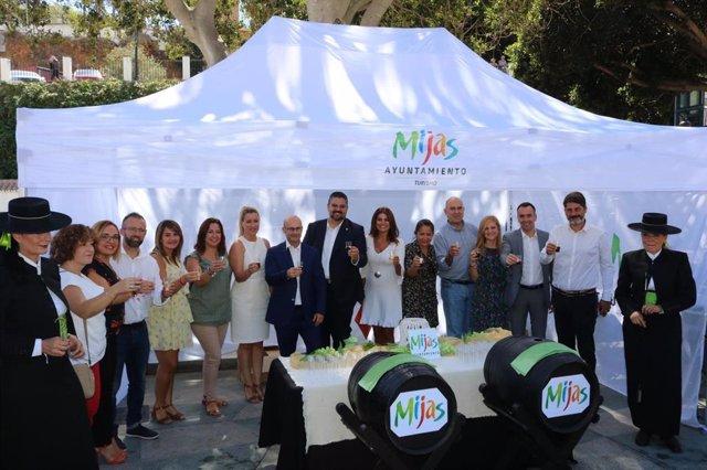 Celebración del Día del Turista en Mijas (Málaga)