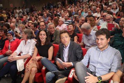 Íñigo Errejón,  en la asamblea general en la que previsiblemente sea nombrado candidato a La Moncloa por Más Madrid