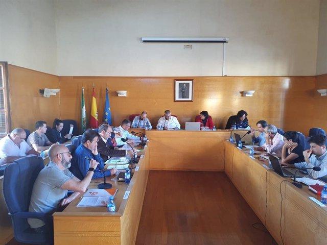 Pleno del Ayuntamiento de Guadix