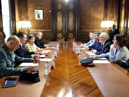 La Comisión de Seguridad Estado-Generalitat se reúne mañana en Barcelona tras acordarse el envío de antidisturbios