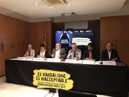 El vandalismo en el transporte ferroviario del área de Barcelona cuesta 15 millones al año