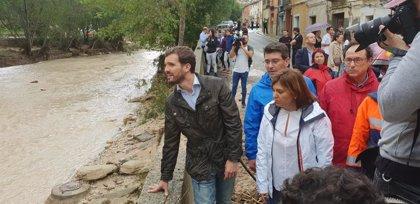 Casado visita este jueves zonas afectadas por la gota fría en Almería