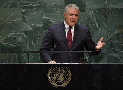"""Duque denuncia vínculos de Maduro con """"los cárteles terroristas"""" y ofrece a la ONU un dosier con """"pruebas"""""""
