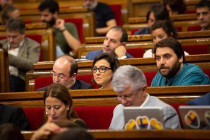 """El PSC busca que el Parlament pida a Torra convocar elecciones """"inmediatamente"""""""