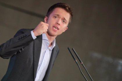 'Más País', nombre de la candidatura que encabeza Errejón
