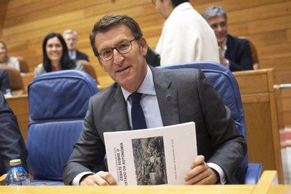 """Feijóo promete que los gallegos pueden contar con él para """"un futuro cierto"""""""