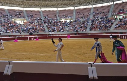 Oreja para Luis David y Juan Leal en la última de la Feria Taurina de San Mateo de Logroño