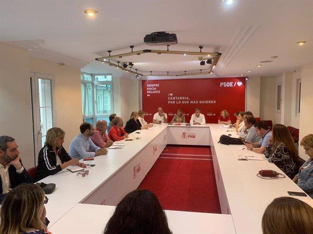 Ejecutiva Regional PSOE Cantabria