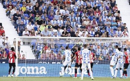 El Leganés mitiga al Athletic y el Getafe salva un empate en Mestalla