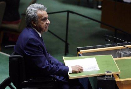 """Moreno pide a la ONU """"buscar una solución definitiva"""" a la crisis política en Venezuela"""