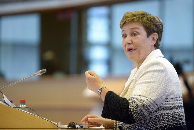 La nuvea directora gerente del FMI, Kristalina Georgieva