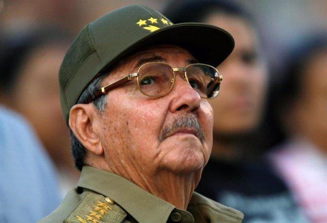 El ex presidente de Cuba Raúl Castro