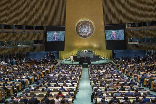 """Armas.- Guterres advierte del aumento de la """"peligrosa retórica"""" sobre la utilid"""