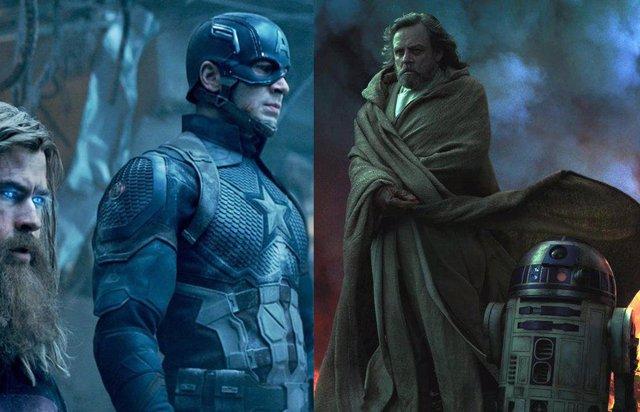 Vengadores: Endgame y Star Wars