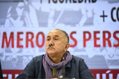 Álvarez admite que UGT erró en los convenios de Prosegur y Securitas y se alegra del fallo de la Audiencia
