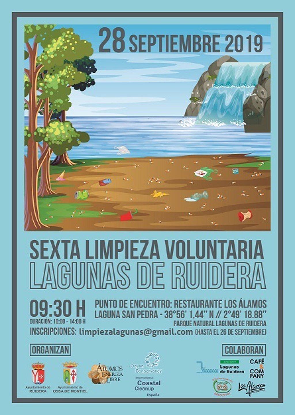 Voluntarios Acudirán Este Sábado A Recoger La Basura Generada Por Los Veraneantes En Las Lagunas De Ruidera