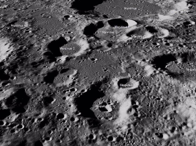 El aterrizador lunar Vikram de la India se busca en las sombras lunares