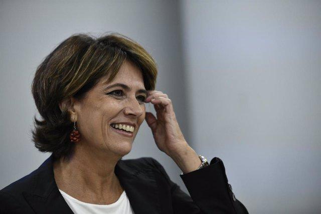La ministra de Justícia en funcions, Dolores Delgado, Madrid, 17 de setembre del 2019.