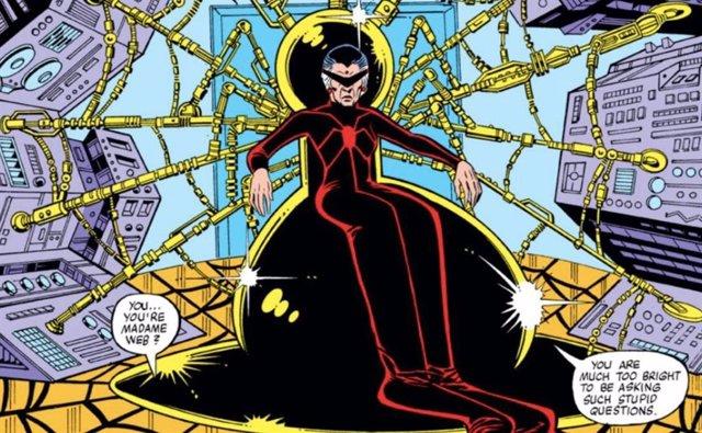 Imagen de Madame Web, personaje de Spider-Man