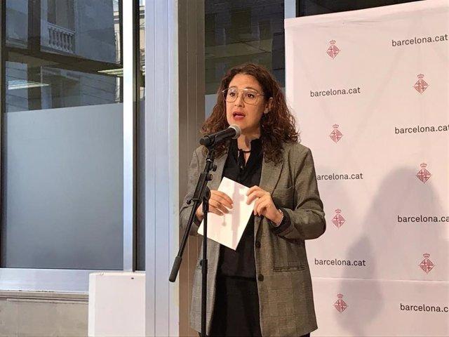 La tinent d'alcalde de Feminismes, Laura Pérez