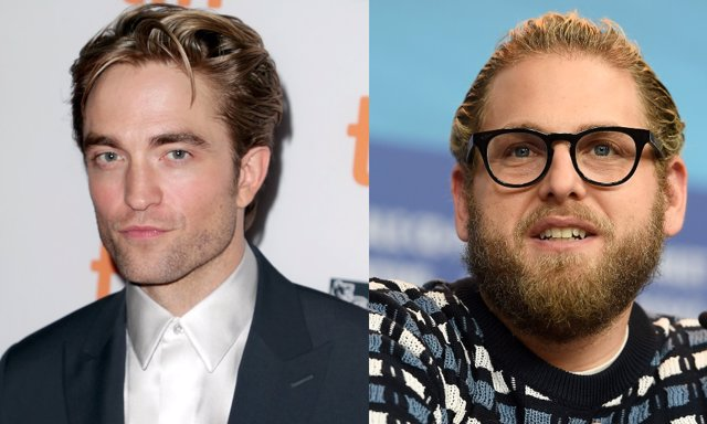Robert Pattinson junto a su posible compañero de reparto Jonah Hill