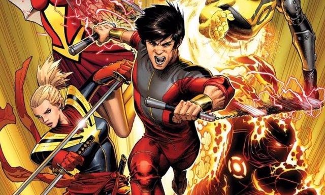 Shang-Chi en su versión en los cómics