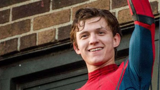 Tom Holland en Spider-Man: Homecoming