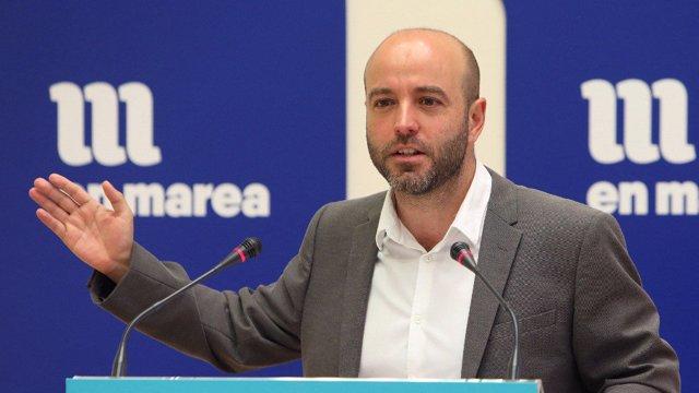 O portavoz de En Marea, Luís Villares.