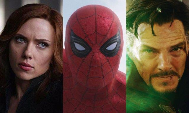 Viuda Negra, Spider-Man y Doctor Strange, tres de los personjes que tendrán película en esta nueva etapa