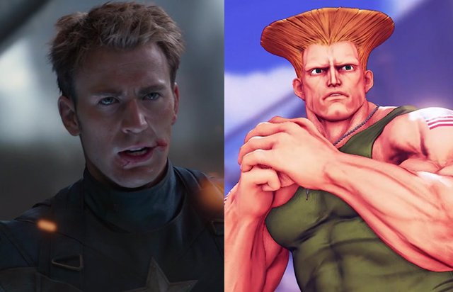 ¿Chris Evans Como Guile?