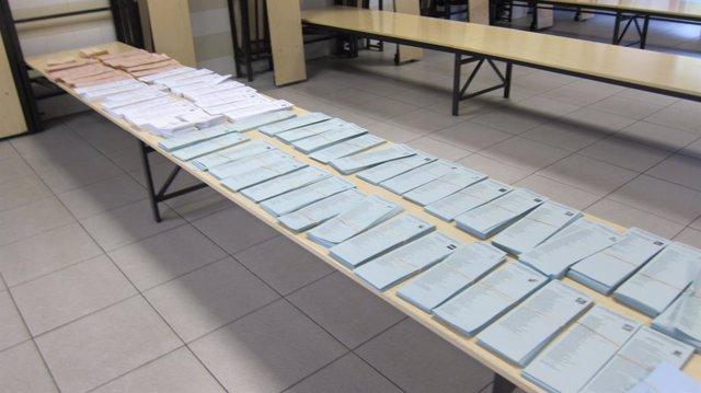 Paperetes de votació
