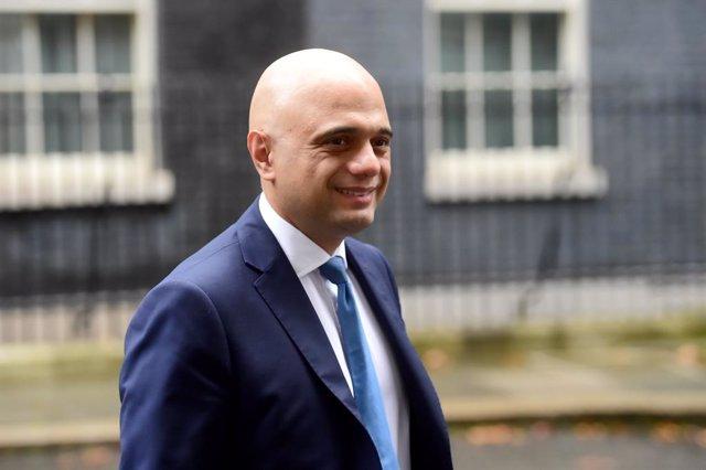 El ministre britànic de Finances, Sajid Javid