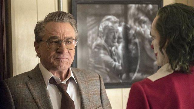 Robert De Niro en Joker, la película protagonizada por Joaquin Phoenix