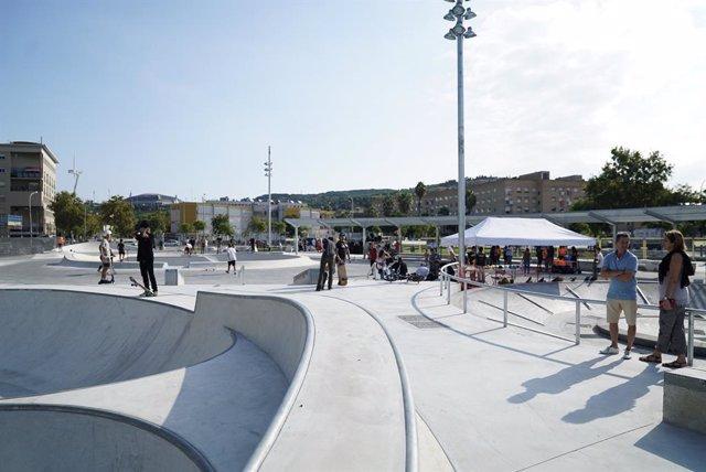 Nou parc de patinatge