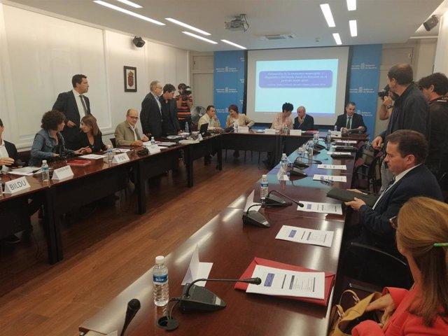 Reunión de la Comisión de Lucha contra el Fraude Fiscal en Navarra
