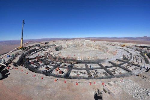 Construcción del telescopio ELT
