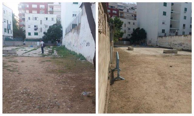 Limpieza de Emaya en Camp Redó